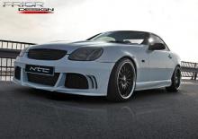 687 Обвес NTC на Mercedes SLK R170