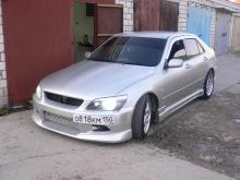564 Пороги - Обвес C-west на Toyota Altezza is200