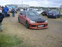 583 Передний бампер - Обвес Interceptor на Toyota Altezza is200