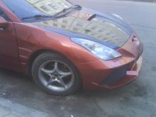 74 Передний бампер - Обвес Gallardo на Toyota Celica T23