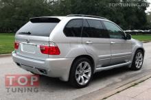 Обвес Aerodinamic с расширением кузова. Тюнинг для BMW E53 X5 Рестайлинг.
