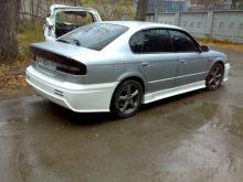 501 Задний бампер - Обвес Gialla Corsa на Subaru Legacy B4