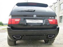Задний бампер - Обвес Аэро, тюнинг BMW X5 E53. До-рестайлинг.