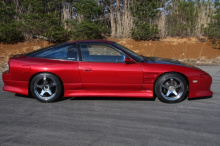 Тюнинг задний бампер обвеса D-Max D1 на Nissan Silvia S13-180SX-200SX-240SX
