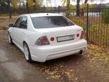 Задний бампер HKS для Toyota Altezza / Lexus IS200.
