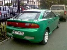 Задний бампер - Тюнинг NTC на Mazda 323F BA