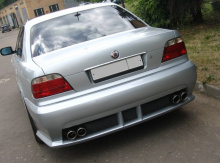 Задний бампер (стиль Seidl) для БМВ 7 в кузове Е38 - Цена 8000 руб.