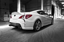 Задний бампер - Обвес Vega, тюнинг Hyundai Genesis Coupe.