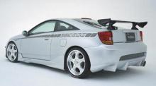 Задний бампер из комплекта тюнинг обвеса Велсайд №1 для Тойоты Селики