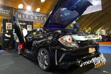 Задний бампер - Обвес Warrior на Hyundai Tiburon GK