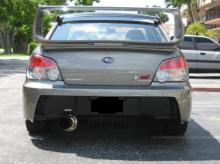 Задний бампер - Обвес Zero Sport на Subaru Impreza WRX II