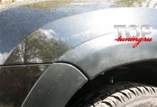 4672 Тюнинг - Расширители арок на Renault Duster 1