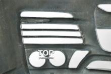 6278 Передний бампер Mz Speed Zeus Luv-Line (Рестайлинг) на Toyota Land Cruiser 200