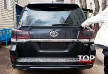 8129 Нижний спойлер TRD рестайлинг на Toyota Land Cruiser 200
