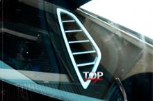 8142 Декоративные накладки на воздухозаборники Epic на Mazda 6 GJ