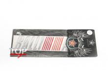 8145 Наклейка - эмблема Ralli Art 180 x 38 на Mitsubishi