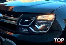 8164 Реснички рестайлинг на Renault Duster 1