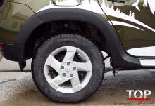 8165 Расширители арок X-Force на Renault Duster 1