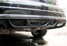 990 Задний бампер - Обвес Wald на Mercedes C-Class W204