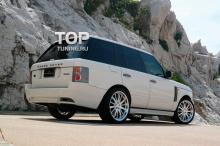 Тюнинг Range Rover Vogue (дорестайлинг) - Юбка заднего бампера WALD.