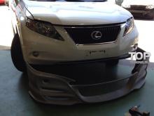 Юбка переднего бампера - Обвес Wald Black Bison - Тюнинг Lexus RX