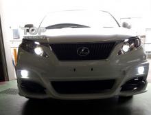 1002 Накладка на передний бампер - обвес WALD на Lexus RX 3