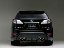 Юбка переднего бампера - Обвес Wald Black Bison для Lexus RX 270/350/450h - 3 поколение (с 2009 по 2012 года).
