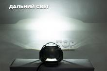 РЕТРОФИТ - УНИВЕРСАЛЬНЫЙ ТЮНИНГ ПЕРЕДНИХ ФАР СВЕТОДИОДНАЯ БИ-ЛИНЗА  3.0 ДЮЙМА (762 mm) КРУГЛАЯ - DIXEL X-BRIGHT 5000K