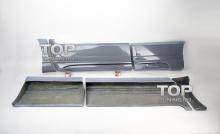 1003 4 накладки на двери с порогами - обвес WALD на Lexus RX 3
