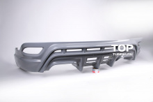 Юбка заднего бампера - Обвес Wald Black Bison - тюнинг Lexus RX 270/350/450h - 3 поколение (с 2009 по 2012 год).