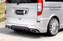 10081 Аэродинамический обвес WALD Black Bison для Mercedes Viano W639