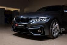 10101 Передний бампер M3 Look с губой для BMW 3 F30