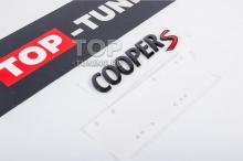 10111 Эмблема Cooper S для MINI (черная)