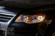 10151 Стекла фар Volkswagen Touareg 2007 - 2010