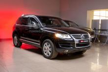 Стекла для замены штатных стекол фар Volkswagen Touareg первого поколения c 2007 по 2010 года выпуска.