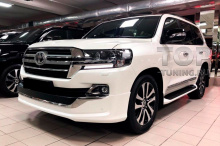 10153 Обвес Executive Lounge White & Black на Toyota Land Cruiser 200