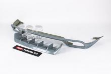 10156 Юбка TechArt на задний бампер Porsche Cayenne E-3