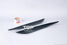 1016 Реснички - накладки на фары на Audi Q7