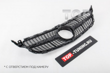 10163 Решетка Diamond Black для Mercedes C-Class W205
