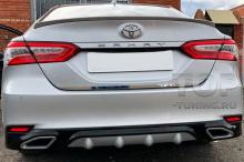 10176 Накладка Consul 2.0 на задний бампер для Toyota Camry XV70