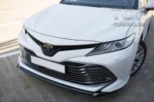 10179 Накладка Consul Sport на передний бампер для Toyota Camry XV70