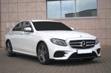 10183 Накладка Wizard на передний бампер для Mercedes E-class W213
