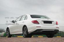 10184 Лезвия Wizard на пороги для Mercedes E-class W213