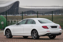 10185 Диффузор Wizard с килями на задний бампер для Mercedes E-class W213