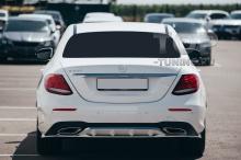 10186 Накладка Wizard на задний бампер для Mercedes E-class W213