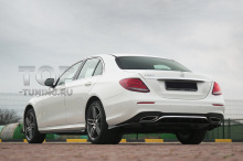 10187 Аэродинамический обвес Wizard на задний бампер для Mercedes E-class W213