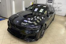 10196 Пороги Liberty на передний бампер BMW 3 G20