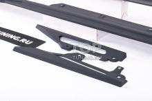 Накладки под пороги - обвес Liberty - Тюнинг BMW 3 G20