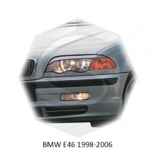 НАКЛАДКИ НА ПЕРЕДНИЕ ФАРЫ ДЛЯ БМВ E46 (1998-2006)
