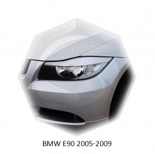 НАКЛАДКИ НА ПЕРЕДНИЕ ФАРЫ БМВ E90 (2005-2009)